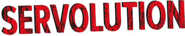 Servolution Text Logo 6x