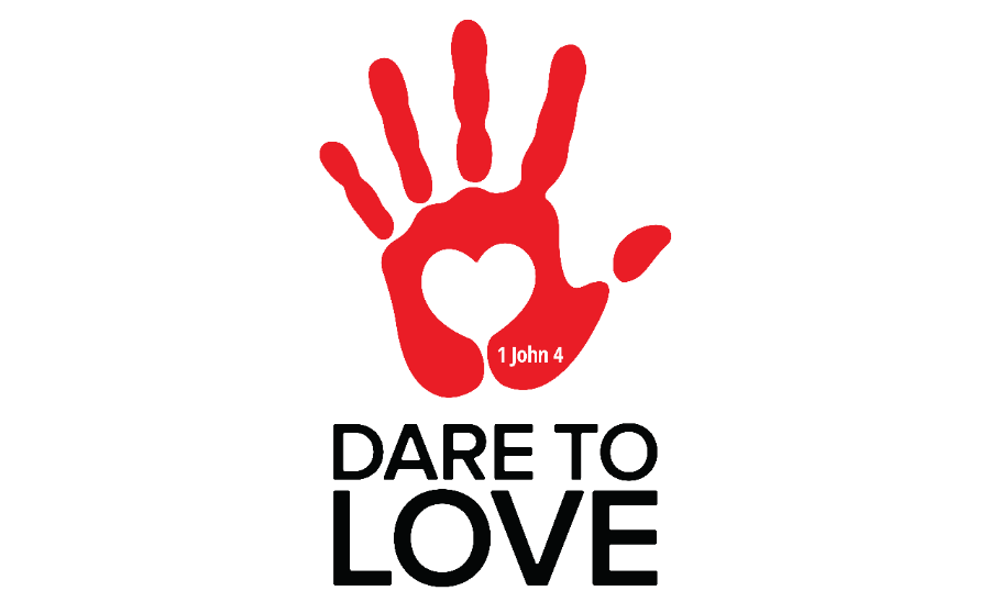 Dare to Love Logo - white - PNG